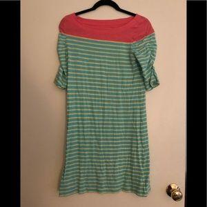 Lilly Pulitzer Striped Tee Shirt Dress